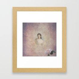 Empress Elisabeth of Austria Framed Art Print