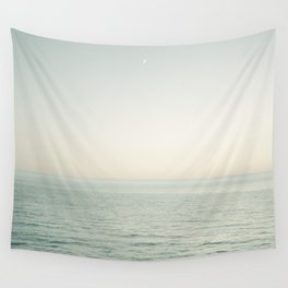 Pismo Beach Moonrise Wall Tapestry