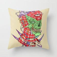 Zombie Sense Throw Pillow