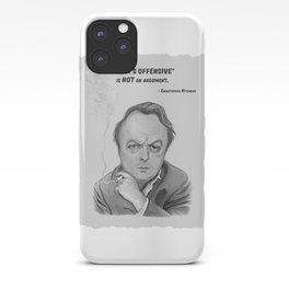 Hitchens iPhone Case