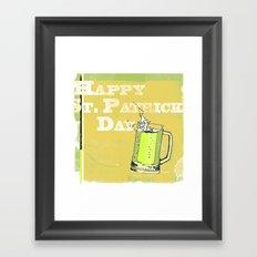St Patrick's Day Framed Art Print