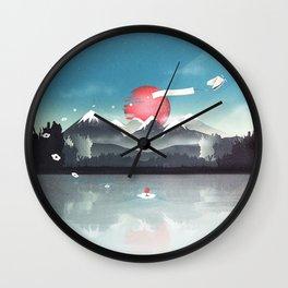 Fortuna's Message Wall Clock