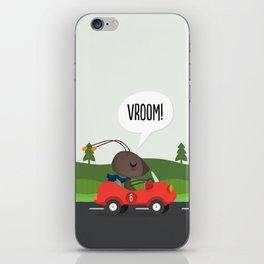 Vroom! iPhone Skin