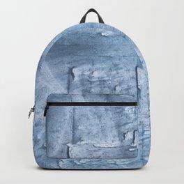 Light steel blue watercolor Backpack