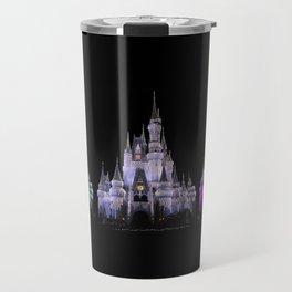 Magic Kingdom Christmas Travel Mug