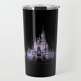 Magic Kingdom Christmas Travel Mug