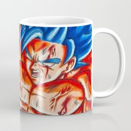 Ssb kaioken goku vs Golden frieza Coffee Mug