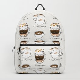 Coffee Right Meow Backpack
