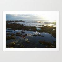 San Pedro at Low Tide Art Print