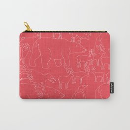 Global warming and animal migration 04 Carry-All Pouch