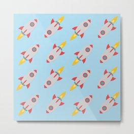 Rocket Power Metal Print