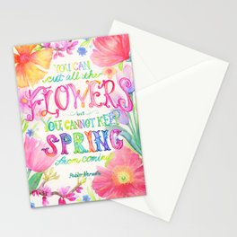 Flowers & Spring Stationery Cards