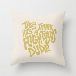 Ferris Bueller Throw Pillow
