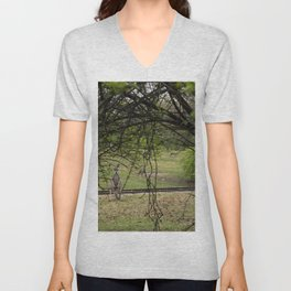 Roo through the Trees Unisex V-Neck