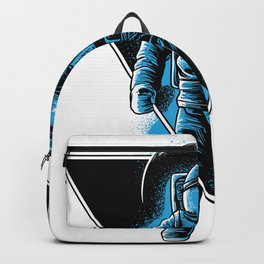 Space Astronaut Galaxy surfer Backpack