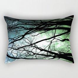Moonlight Forest Rectangular Pillow