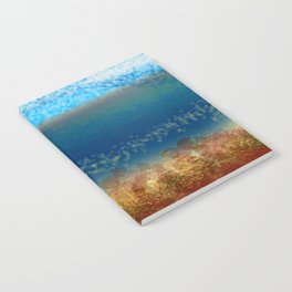 Abstract Seascape 01 w Notebook