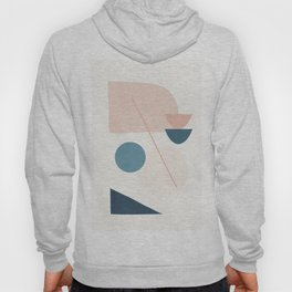 Abstract Minimal Shapes 32 Hoody