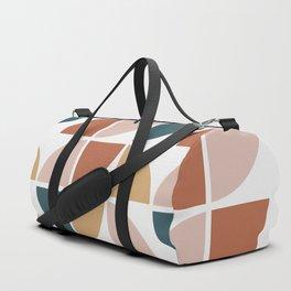 Mid Century Circles Duffle Bag