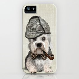 Sir Dandie Dinmont Terrier iPhone Case