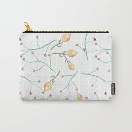 Delicate pimpo floral print Carry-All Pouch