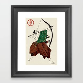 Slice & Dice - Archer Framed Art Print