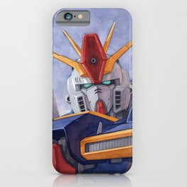 ZZ Gundam iPhone Case