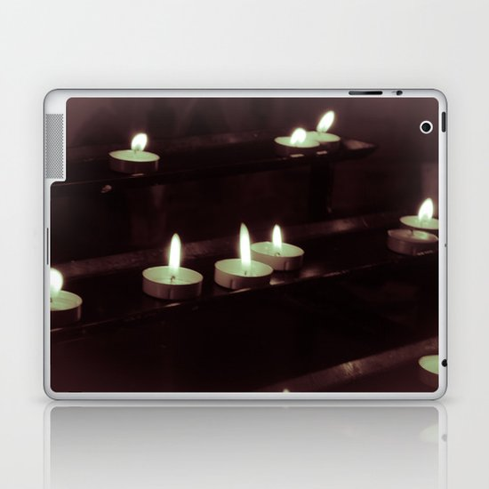 split toning candels Laptop & iPad Skin