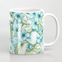 blossom Mugs featuring Blossom by Julia Badeeva