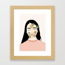 Can't Hide True Beauty Framed Art Print