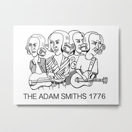 The Adam Smiths  Metal Print