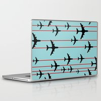 planes Laptop & iPad Skins featuring Planes by Frances Roughton