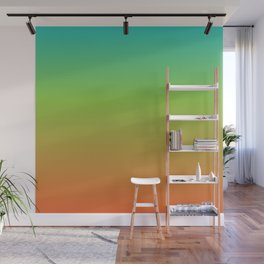 Tropical Gradient Wall Mural