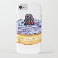 donut iPhone & iPod Cases featuring Donut by Amber-1107studio
