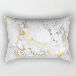 Original Gold Marble Rectangular Pillow