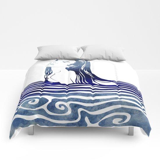 Water Nymph VIII Comforters