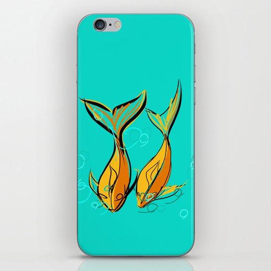 goldphishes iPhone & iPod Skin