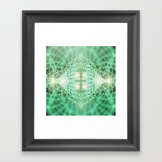 Geometry Dreams : Eternal Framed Art Print