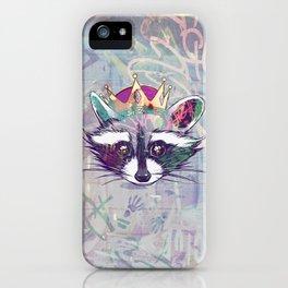 Rey Mapache iPhone Case