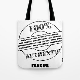 Authentic Fangirl Tote Bag