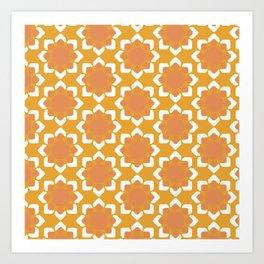 Geometric Fall Collection Art Print