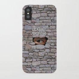 Break Walls iPhone Case