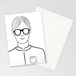 Poker Face Stationery Cards