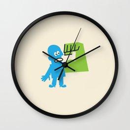 GAMMA RADIATION Wall Clock