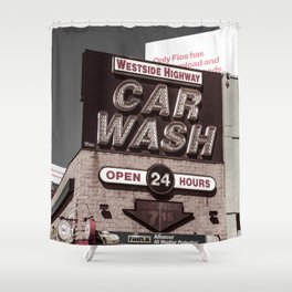 Intrepid Car Wash Shower Curtain