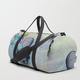 Pinwheel Robot Duffle Bag