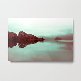 Lake Meditation Metal Print