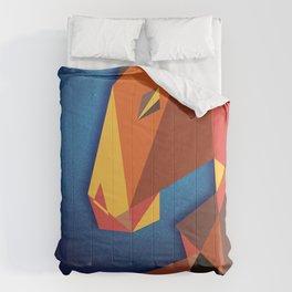 Abstract horse- Caballo abstracto Comforters