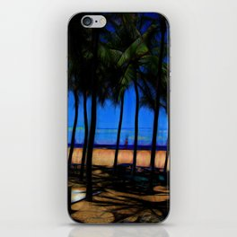 Hawaii Beach At Midday iPhone Skin