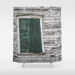 Crooked with Age Shower Curtain